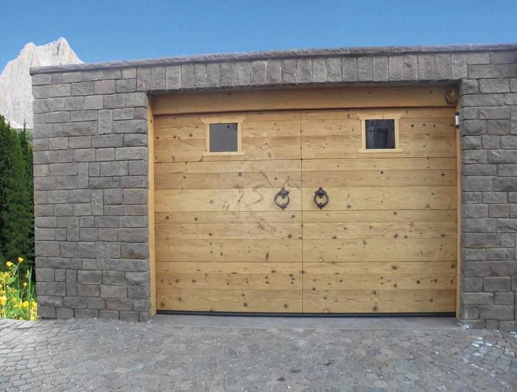 Popolare Portone garage sezionale - Falegnameria Pojer BV83