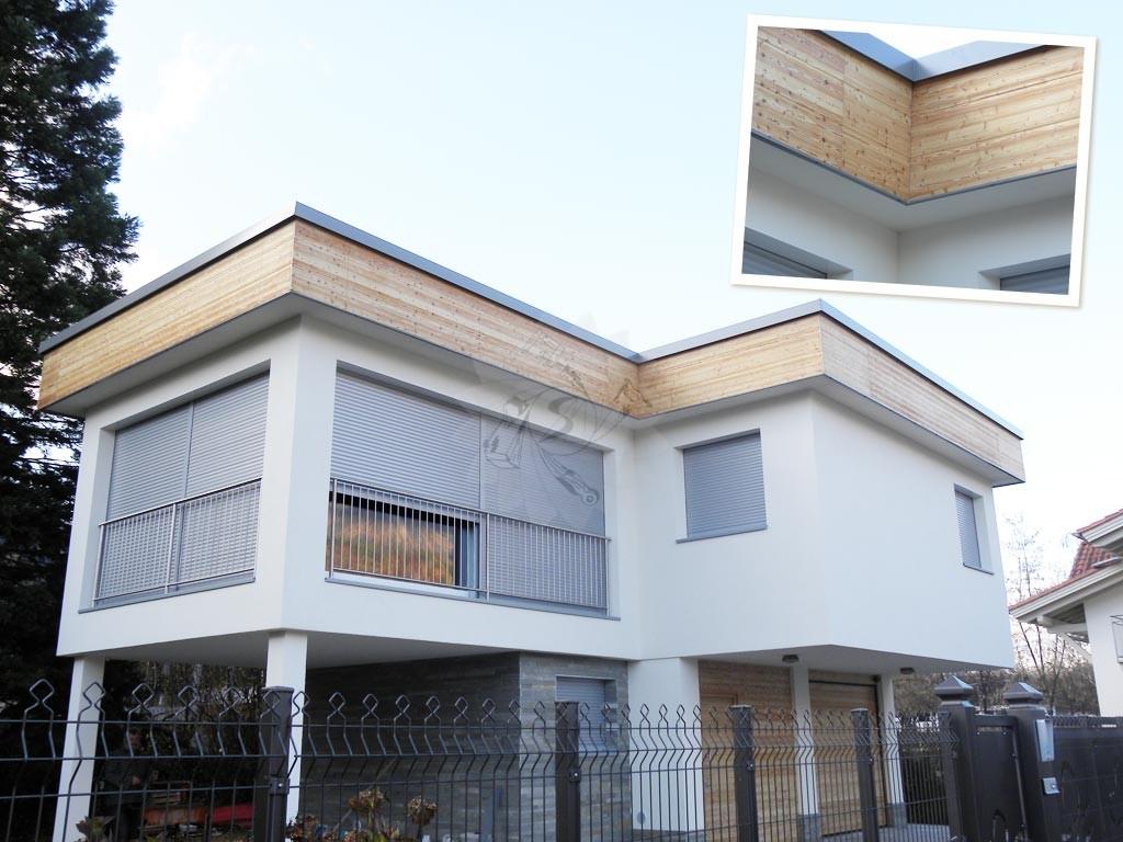 Rivestimento in legno per pareti esterne: rivestimenti per pareti ...