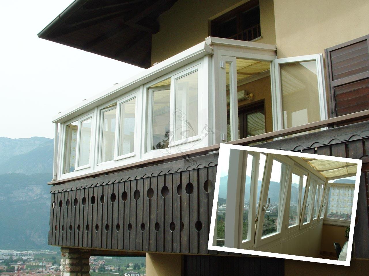 Verande sui balconi - Verande mobili per balconi ...