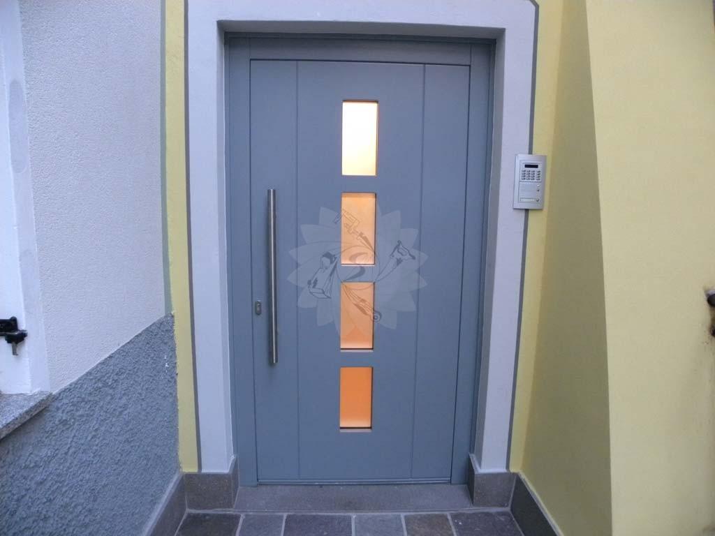 Portoncini d 39 ingresso falegnameria pojer for Porta ingresso vetro