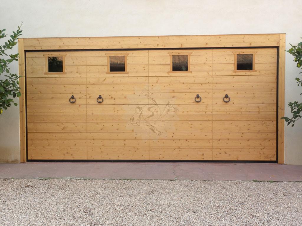 Wooden Garage Doors Carpentry Pojer Enterprise
