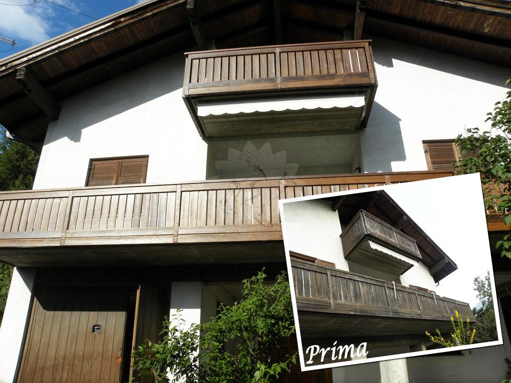 Balconi Esterni In Legno : Pavimenti per l esterno effetto legno e pietra cose di casa